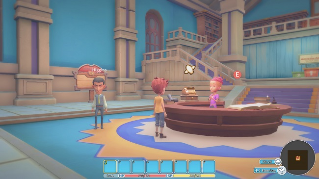 My Time at Portia - game RPG phong cách sandbox 3D sắp cập bến Steam