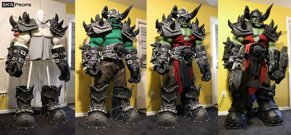 Cosplay Orc trong World of Warcraft chất nhất lịch sử