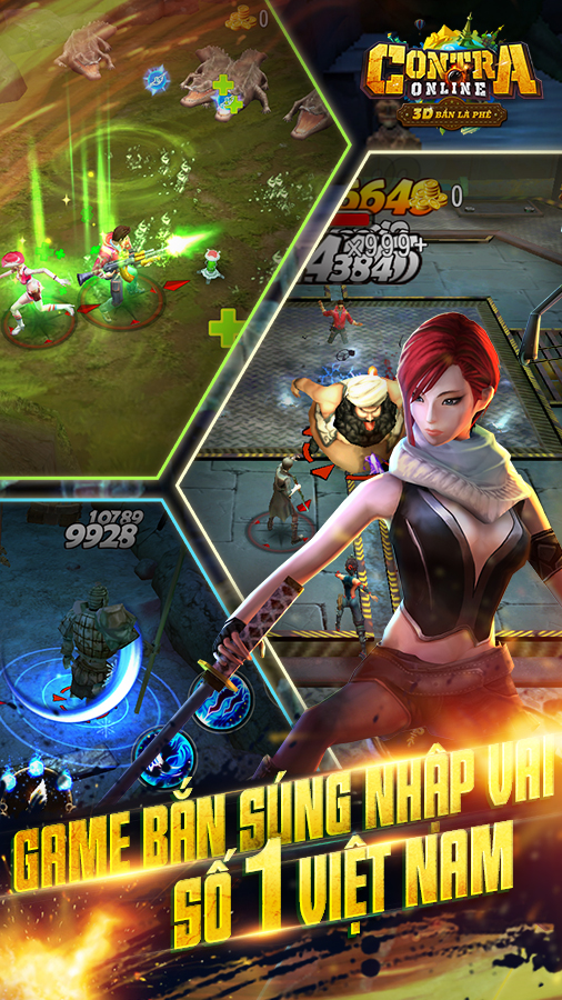 Contra Online sắp ra mắt game thủ Việt