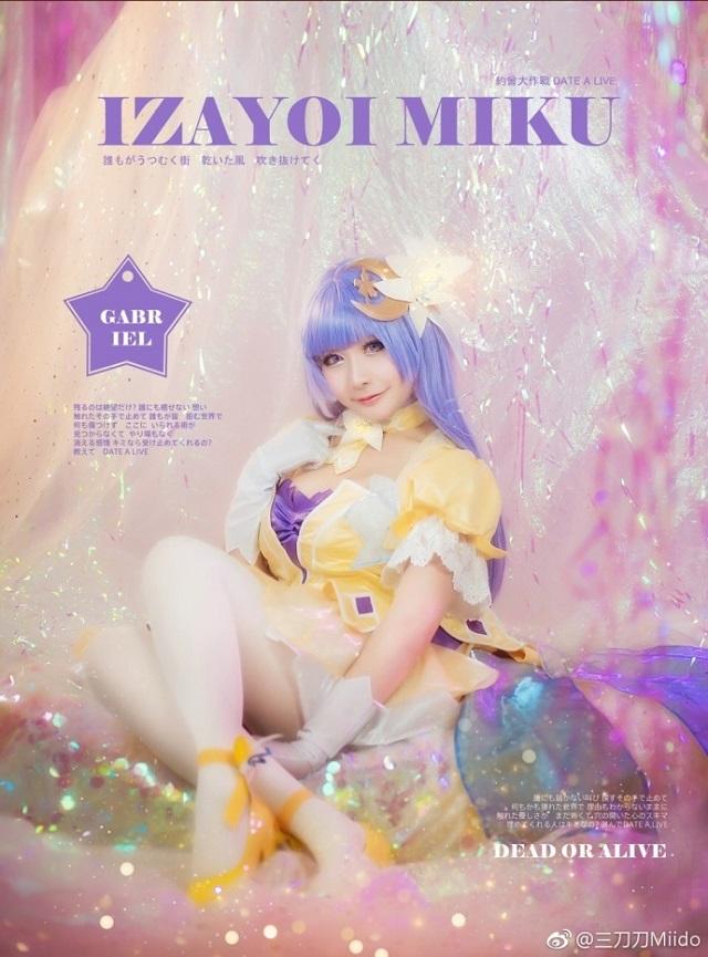 Cosplay mỹ nhân Miku Izayoi cực nóng bỏng trong Date A Live 2
