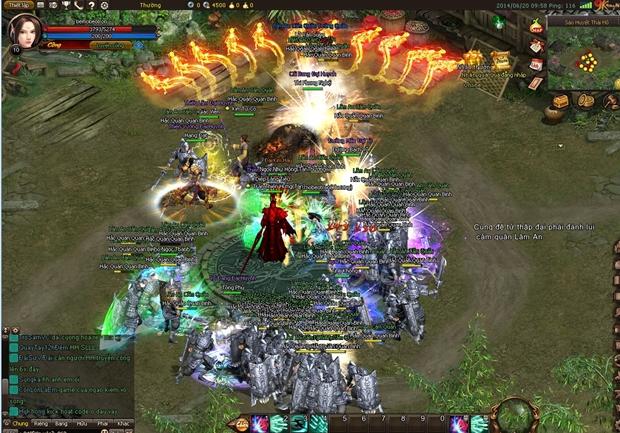 """Bên cạnh đó, hiệu ứng âm thanh """"bốc lửa"""" khiến người chơi thêm hưng phấn  khi tham gia các tính năng tranh đấu đậm chất """"củ hành""""."""