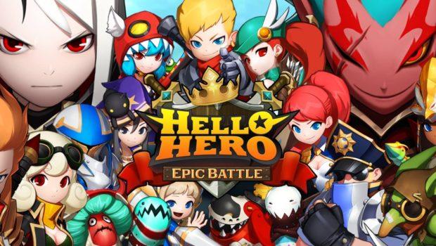Hello Hero: Epic Battle – sự trở lại của bom tấn cực hot trên Facebook