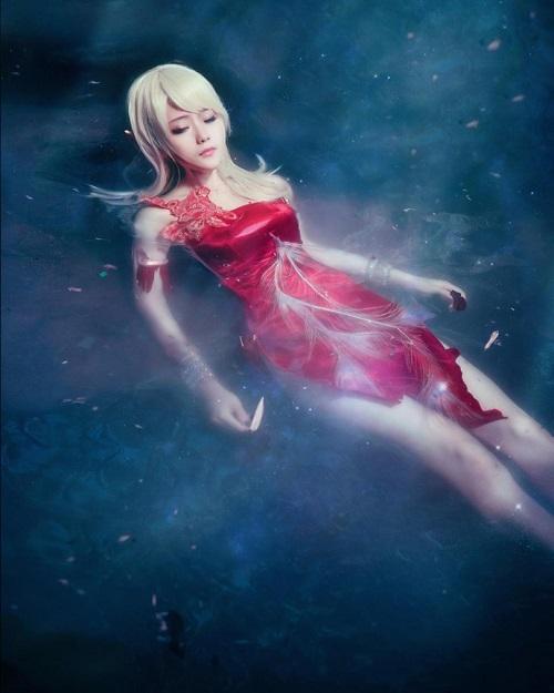Mê mẩn cosplay nàng Elf lưng trần cực quyến rũ trong TERA Online