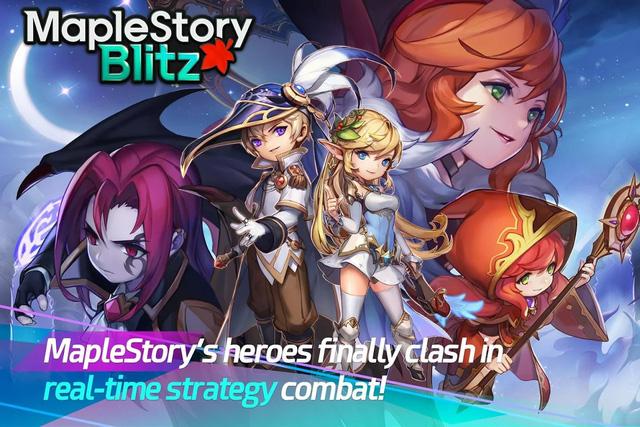 """MapleStory Blitz: """"Nấm lùn phiêu lưu ký"""" trở lại với game thẻ tướng"""