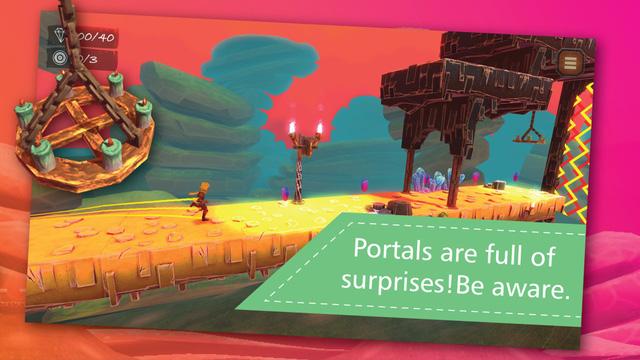 Rapid Shift - Tựa game phiêu lưu kết hợp runner vui nhộn đang cho tải miễn phí