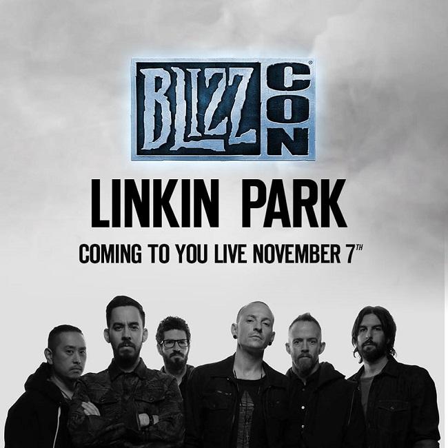 Linkin Park sẽ quẩy nát Blizzcon 2015