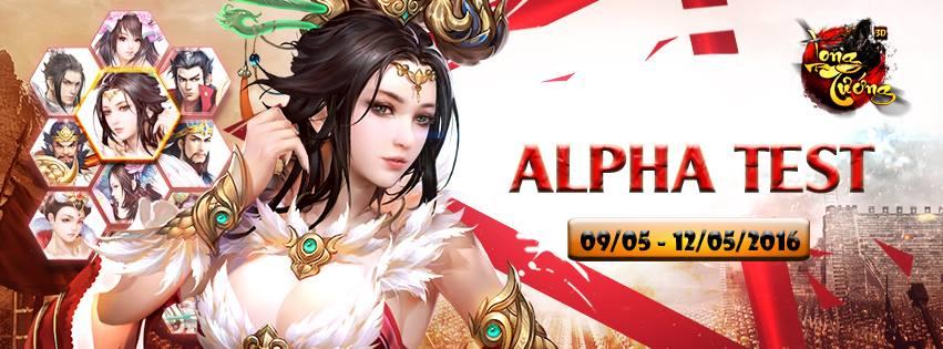 Long Tướng 3D chính thức Alpha Test ngày hôm nay
