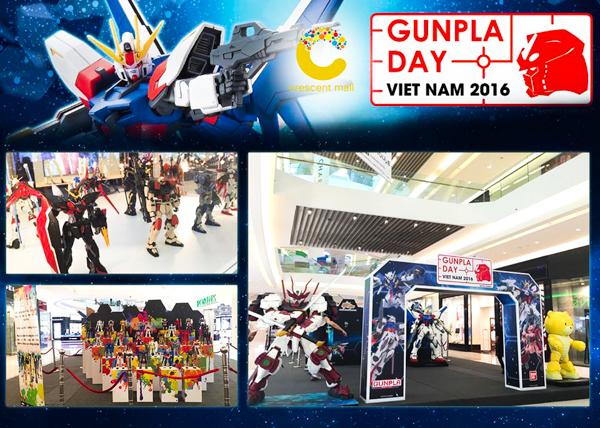 GunPla Day 2016 – ngày hội của cộng đồng yêu thích Gundam