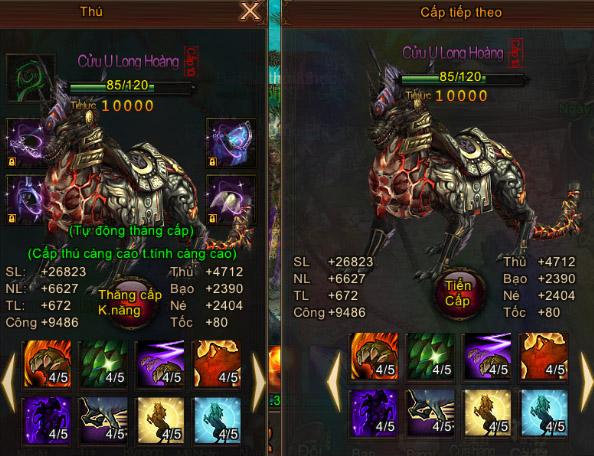Mỗi người chơi có thể nhận tới tối đa 200 người chơi khác làm đệ tử với mức  thưởng của game khi đệ tử đạt tới các mốc level 10, 30, 40, ...