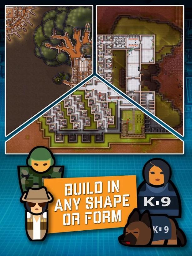Prison Architect: Mobile – tựa game quản lý nhà ngục cực độc đáo