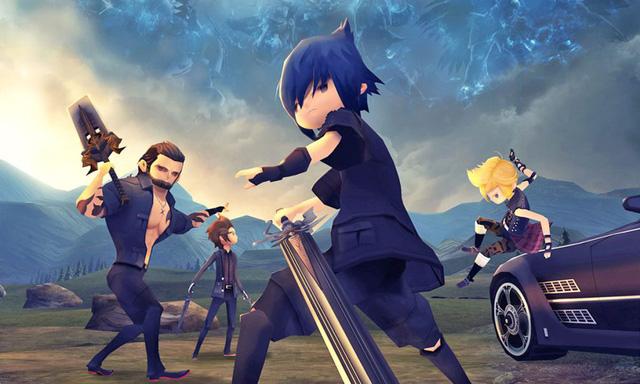 Phiên bản mobile chibi của Final Fantasy XV vừa mở cửa đăng ký trước