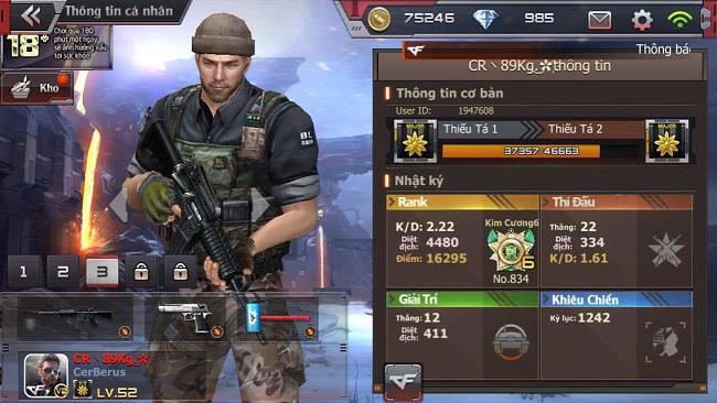 Crossfire Legends – Gặp gỡ game thủ chuyên chơi súng gỗ kể cả đánh giải