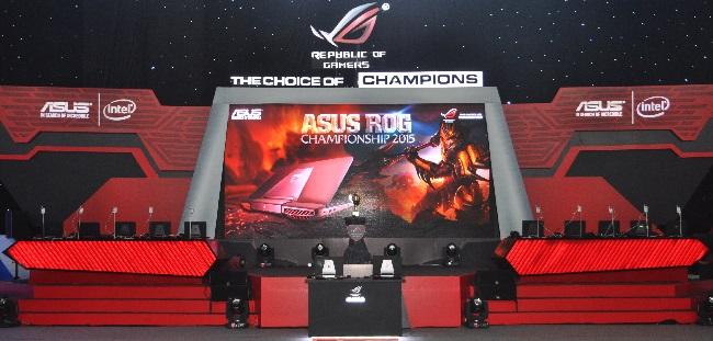 ASUS ROG Championship 2015 chính thức khai mạc