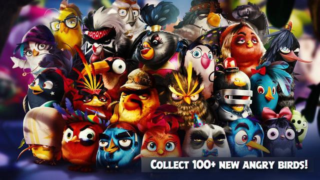 """Angry Birds Evolution - Chim điên """"lột xác"""" với tựa game siêu hấp dẫn"""