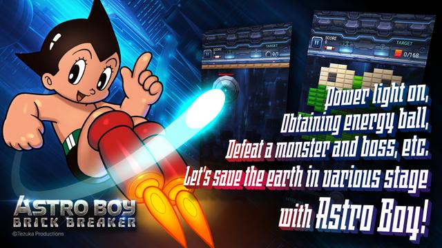 Astro Boy: Brick Breaker - Điều khiển chiến binh robot siêu phàm