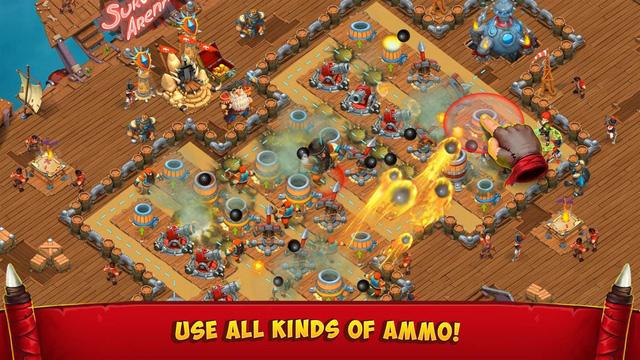 Survival Arena - Game thủ thành cực lôi cuốn cho bạn thách đấu online và cả livestream