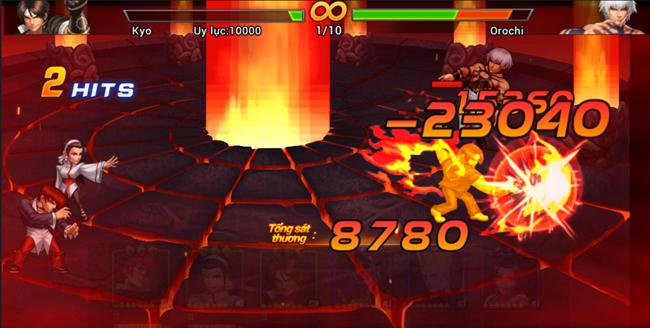 Trải nghiệm Quyền Vương 98 game nhập vai thẻ tưởng trong ngày đầu tiên ra mắt