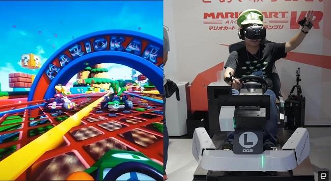 Xem xong clip này bạn sẽ muốn đến Nhật ngay để chơi Mario Kart VR