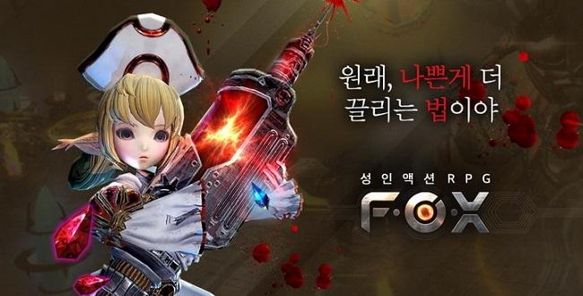 """F.O.X – Game mobile hành động """"người lớn"""" từ Hàn Quốc"""
