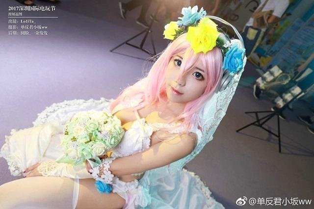 Xịt máu mũi với nàng idol Super Sonico phiên bản cô dâu cực nóng bỏng