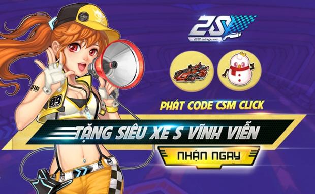 Game thủ 2S Online nhanh tay săn code CSM Click tại các phòng máy