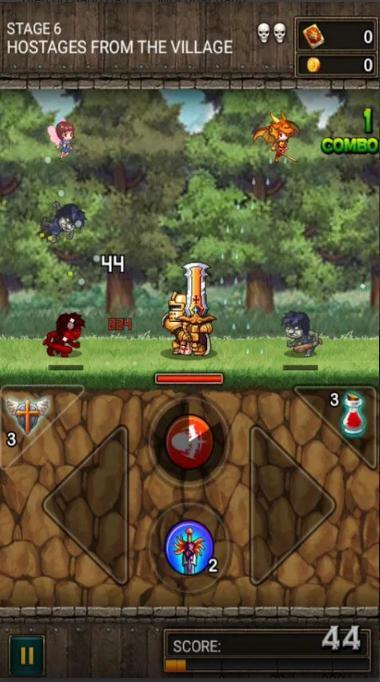 Dragon Storm: Game nhập vai đánh quái từ 2 hướng đơn giản mà thú vị