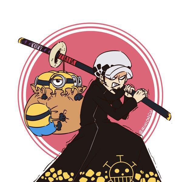 "Khi Minion ""xâm chiếm"" thế giới One Piece"