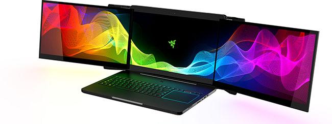 Razer giới thiệu laptop gaming với 3 màn hình 17,3-inch 4K