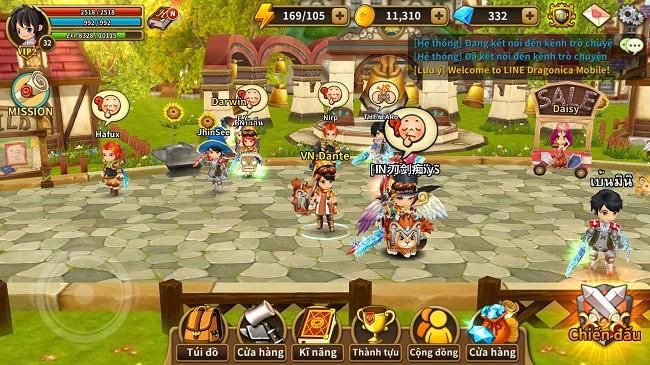 Cùng hot girl Trà Linh khám phá bí quyết chơi tốt Dragonica Mobile