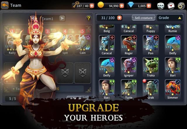 Demon Blaze - Sự lựa chọn mới lạ cho những ai yêu thích game chiến thuật turn-based