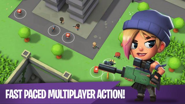 Battlelands Royale: tân binh sinh tồn cực thú vị vừa đổ bộ mobile