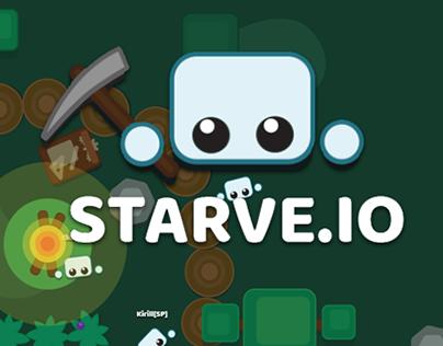 Starve.io – game sinh tồn phong cách .io cực dễ nghiện