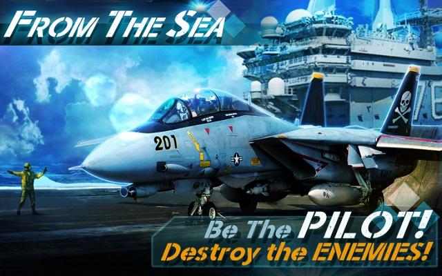 From the Sea – trải nghiệm lái phi cơ chiến đấu như thật trên mobile