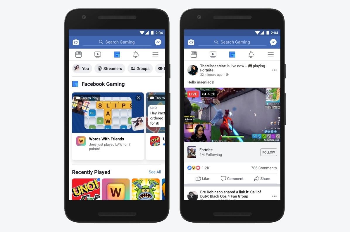 App Facebook trên Android chuẩn bị ra mắt Tab chuyên game riêng cho game thủ