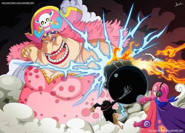 """Top 4 """"quái vật 3 đầu"""" mạnh nhất trong One Piece"""