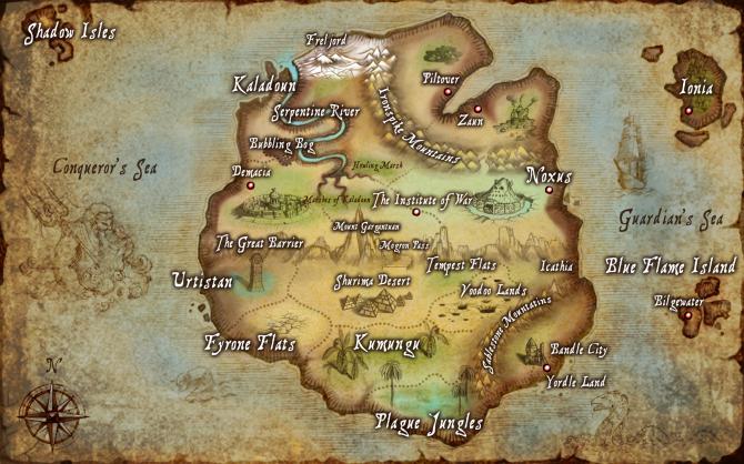 LMHT – Những bí ẩn trong thành bang Noxus
