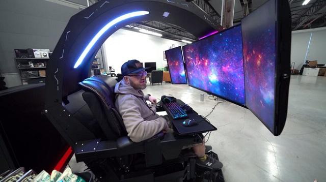 """Chiêm ngưỡng cỗ máy mang lại """"trải nghiệm chơi game tối thượng"""" có giá tới gần 700 triệu từ Youtuber Unbox Therapy"""