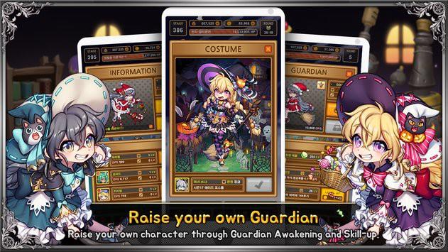 Lutie RPG Clicker - Tựa game nhập vai đồ họa chibi đậm chất nghệ thuật đã ra mắt