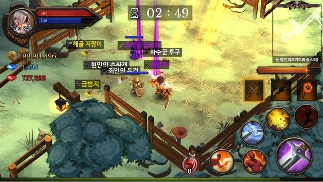 Dungeon Chronicle - Diablo phiên bản chibi cực đáng thử trên Mobile