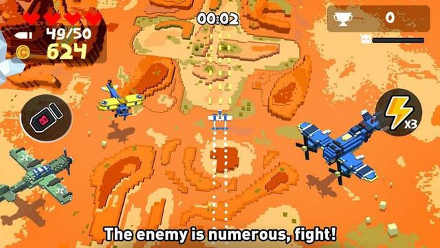Aero Smash - Game bắn máy bay theo phong cách Pixel cực vui nhộn