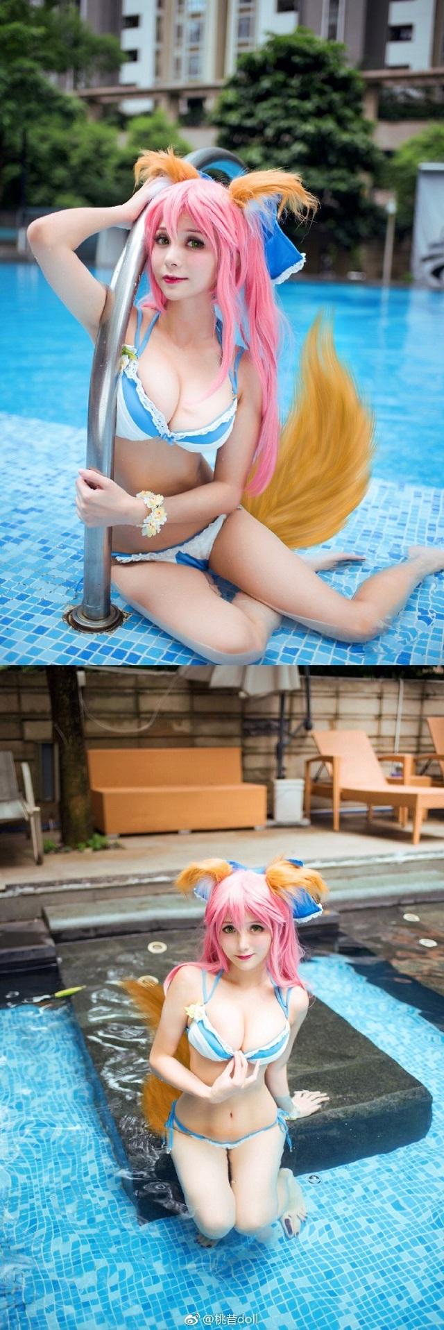 Bộ ảnh bikini cực 'mát' trong Fate/Extella đãi mắt game thủ đầu tuần