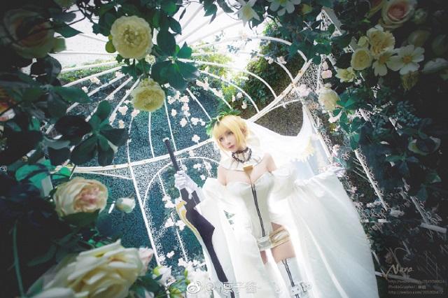 'Mất hồn' với nhân vật Nero xinh không tì vết trong Fate/Extella