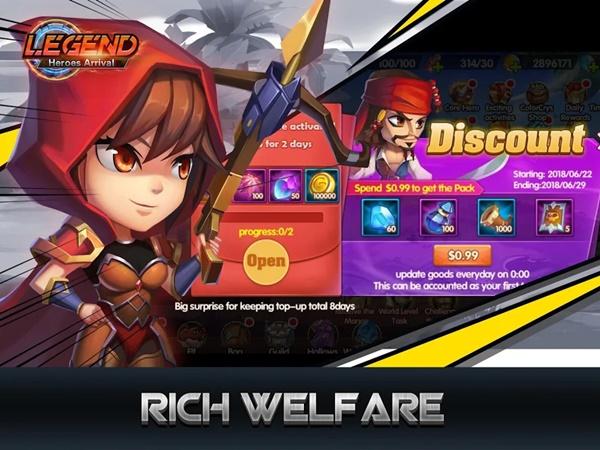 Legend-Heroes Arrival – tựa game RPG độc đáo đáng trải nghiệm