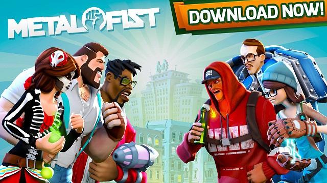 Metal Fist - Game mobile hành động đánh đấm có dàn nhân vật kỳ quái cực sắc màu