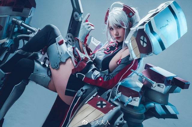 Đãi mắt game thủ đầu tuần với cosplay cực gợi cảm trong Azur Lane