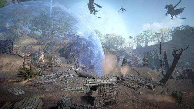 Ascent: Infinite Realm - siêu phẩm MMORPG đồ họa cực đẹp từ cha đẻ PUBG