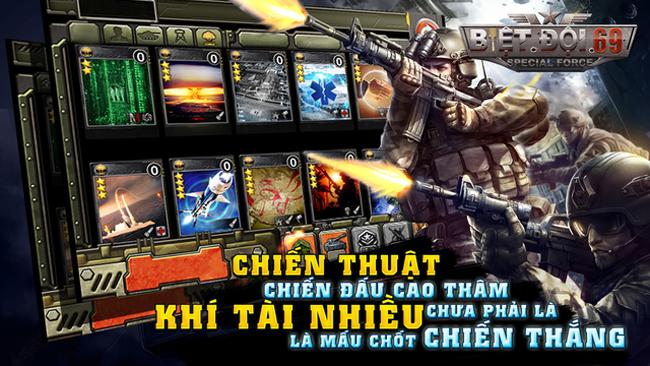 Trải nghiệm Biệt đội 69 – gMO bài thẻ đấu vừa ra mắt tại Việt Nam