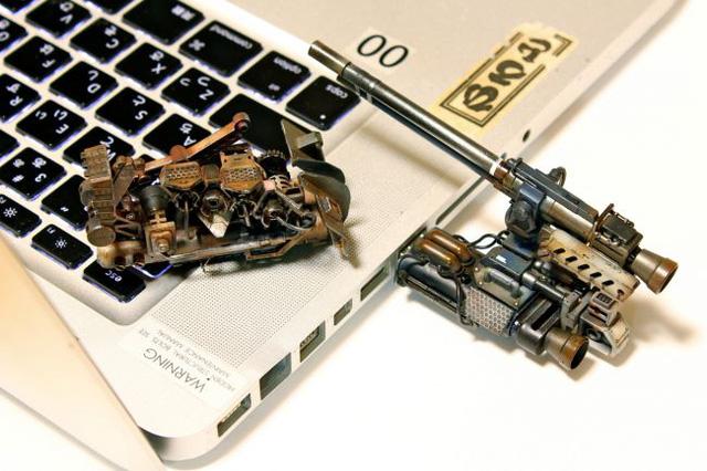 Dàn máy tính phong cách quân sự độc nhất trên thế giới