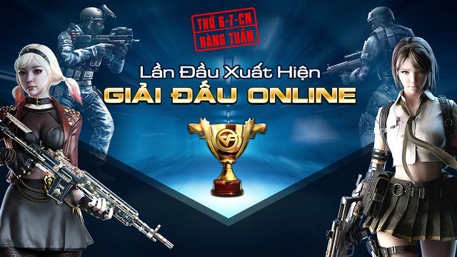 CFL - Thi đấu online, chế độ Đào Tẩu, vũ khí VIP đổ bộ tháng 1 này