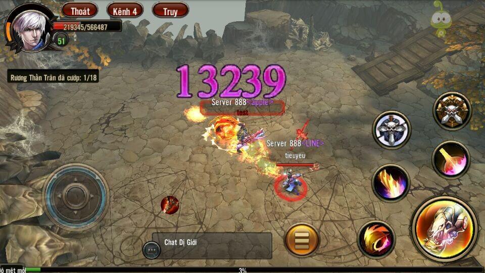 Chiều lòng người chơi Chiến Thần Bóng Đêm tiếp tục tung ra phiên bản mới PK đã tay hơn